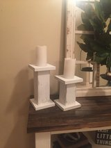 Set of candle holders in Leesville, Louisiana