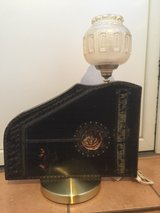Vintage Zither Lamp in Spangdahlem, Germany
