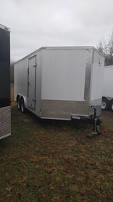 8' X 18' Enclosed Trailer - V - Rear Ramp in Fort Campbell, Kentucky