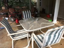 Patio table and chairs in Warner Robins, Georgia