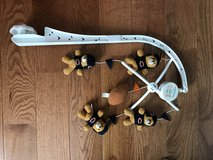 Chicago bears baby crib mobile in St. Charles, Illinois