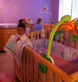 Baby crib and matching furniture changing table  ,nursery in Fairfield, California