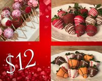 Valentines Day Chocolate Covered Strawberries and Pops in Camp Pendleton, California