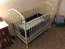 Crib and changing table in Fairfield, California