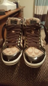 Coach size 10 women over the ankle shoes. in Fort Campbell, Kentucky