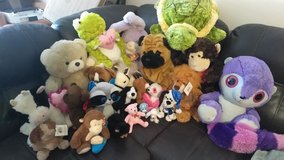 Stuffed animal lot in Fort Polk, Louisiana