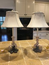 REDUCED!!!  2 matching table lamps in Macon, Georgia