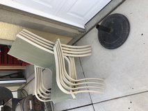 Outdoor patio umbrella stand holder in Camp Pendleton, California