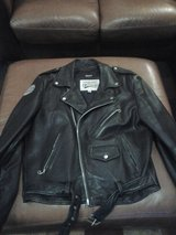 Leather motorcycle jacket in Bolingbrook, Illinois