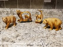 lot of 4 decorative bear figurines in Fort Campbell, Kentucky