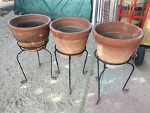 Pots with the stand. in Yucca Valley, California