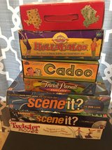 Lots of games in Fort Polk, Louisiana