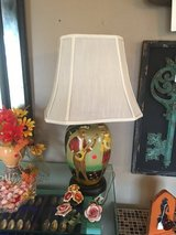 2 hand painted lamps in Cleveland, Texas