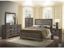 Wood Bedroom set $40.00 Down. Take Home Today!!! in Warner Robins, Georgia