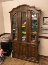 Vintage Drexel solid wood hutch in Fort Lewis, Washington