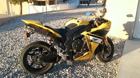 Yamaha YZF R1 in Fort Irwin, California
