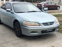 01 Honda Accord EX 5 speed in Jacksonville, Florida