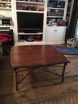 REDUCED!!!  WOOD AND IRON COFFEE TABLE in Macon, Georgia
