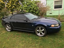 Ford Mustang in Fort Lewis, Washington