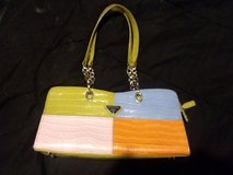 Prada Purse Multi-Color, with silver accents, great purse for Spring?Summer in Chicago, Illinois