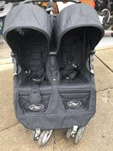 City Mini Double stroller, Black in Naperville, Illinois