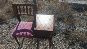 CUTE Chair with a Table in Alamogordo, New Mexico