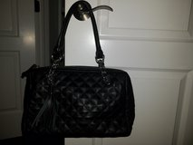 Calvin Klein Black Quilted Leather Handbag in Lockport, Illinois