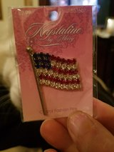 RHINESTONE FLAG PIN in Fort Campbell, Kentucky