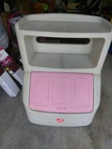 used pink toy box in Camp Pendleton, California