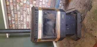 Pellet stove in Yucca Valley, California
