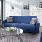 "Brand NEw! Contemporary sleek styling ""Ritz"" sofa love 2pc living room set with pillows in Camp Pendleton, California"