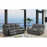 "BRAND NEW! SLEEK STYLING ""SUPER COMFY"" SOFA LOVE GREY LIVING ROOM RECLINER SET! in Camp Pendleton, California"