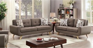 "BRAND NEW! URBAN QUALITY ""SUPER COMFY"" SOFA LOVE 2PC LIVING ROOM SET WITH PILLOWS! in Camp Pendleton, California"