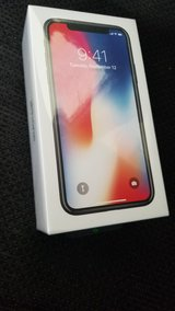 At&T IPhone X 256 GB **New In Box in Fort Polk, Louisiana