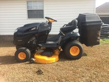 Poulan Riding Lawnmower / with bagger in Fort Rucker, Alabama