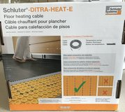 Schluter Ditra Heating Cable in Naperville, Illinois
