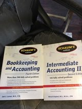 Bookkeeping and Accounting 4th ED & Intermediate Accounting II in Lawton, Oklahoma