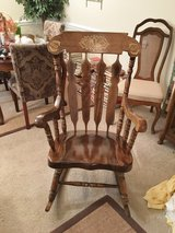 Wooden rocking chair in Warner Robins, Georgia