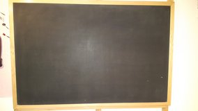Wood Framed Quartet 407 Premium Large 6' Wide by 4' High Chalk Board in Bolingbrook, Illinois
