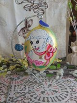 Easter Glass Egg Ornament in Conroe, Texas