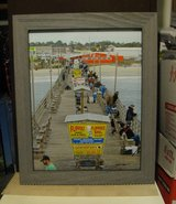 Bogue Pier 11x14 Framed photograph in Cherry Point, North Carolina