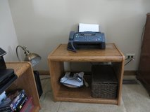 PRINTER FAX TABLE or LP RECORD Holder - 2 Available - LIKE NEW! in Naperville, Illinois