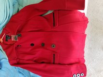 Moda red wool coat in Fairfield, California