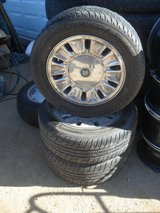 %%  3 x Jaguar Wheels + Tires  %% in Yucca Valley, California