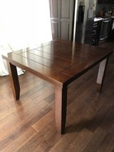 Contemporary Wood Dining Table in Kingwood, Texas
