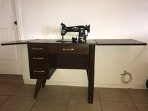 Sewing table with machine in Yucca Valley, California