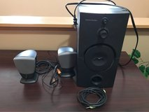 Computer speakers with woofer in Lockport, Illinois