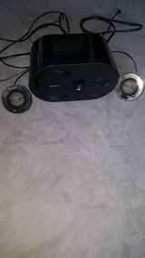 Sony subwoofer with mini speakers...good condition. in Cherry Point, North Carolina