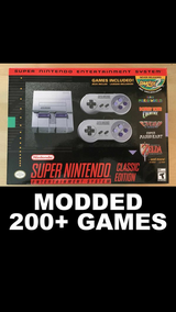 Snes Classic with 200+ GAMES in Camp Pendleton, California