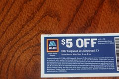 This Weeks ALDI $5.00 Coupon in Spring, Texas